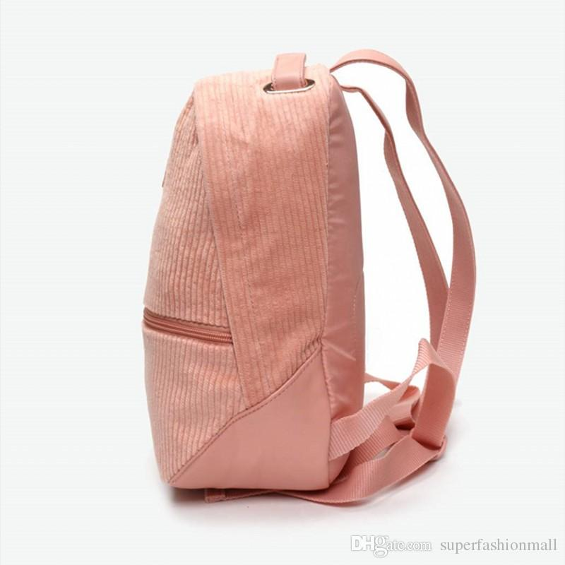 7ce9451578eb5 Brand New Prime Time Archive Corduroy Backpack Fashion Brands Womens  Designer Bags Girls Pink Designer Backpacks Womens Backpacks Pink Backpacks  From ...
