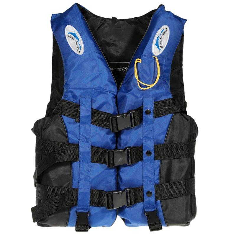 Gilet de sauvetage Gilet, Adulte Femmes Hommes Eau Natation nautique Kayak Dérive Nautisme Pêche Safet Y Veste Gilet d'urgence W