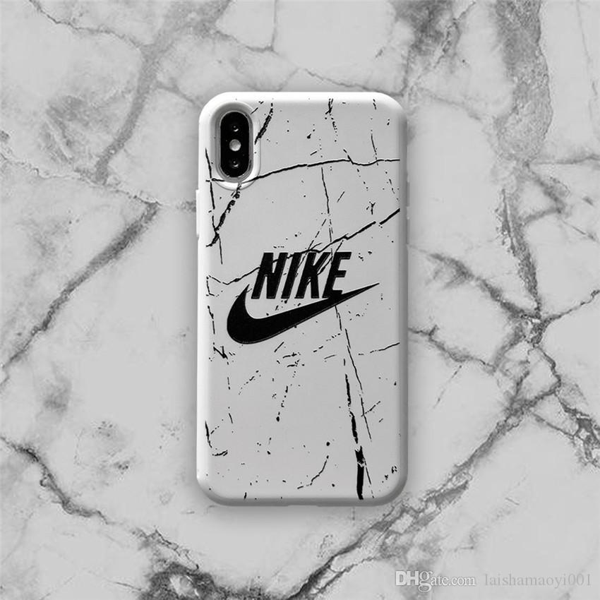أزياء قضية فون ينطبق على iPhoneXR XSMAX XS 7 8 زائد 7 8 6 6SP حالة الهاتف الفاخرة مع العلامات التجارية 2 أنماط