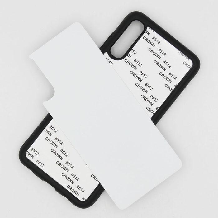 فارغة 2D التسامي TPU + PC غطاء حالة الهاتف لسامسونج غالاكسي A10 A10S A10E A20E A20S A30 A40 A50 A70 A90 A70S 5G