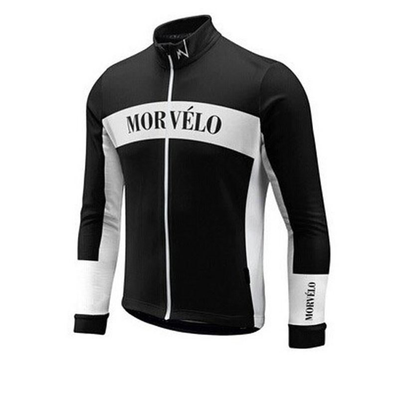 Morvelo team Cycling long Sleeves jersey quick dry breathable long sleeve t shirt mens bicycle clothes tops D2904