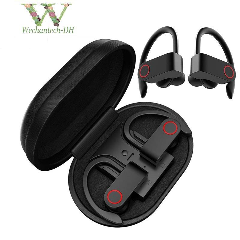 A9 Tws Wireless Earbuds Waterproof Ear Hook Sport Earphone Bluetooth 5 0 Headphones True Stereo Music Headset With Mic Charging Box Cell Phone Headphone Earbuds For Cell Phone From Wechantech 9 99 Dhgate Com