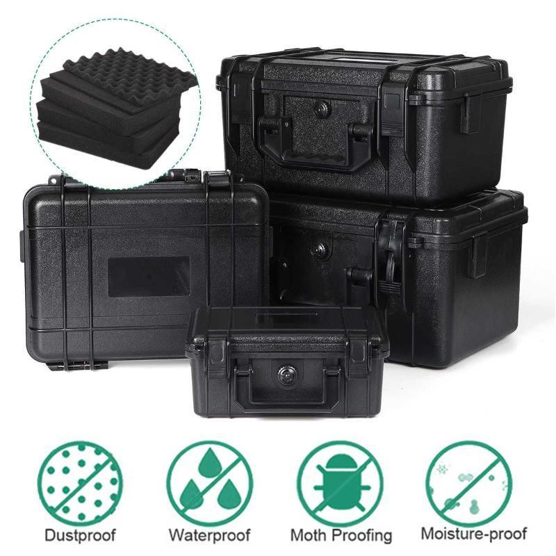 Funda impermeable Caja de plástico ABS de Herramientas al aire libre táctico Dry Box Sellado de seguridad Equipo de herramienta al aire libre de contenedores