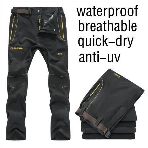 Kostenloser versand herren UV schnell trocknende hose größe