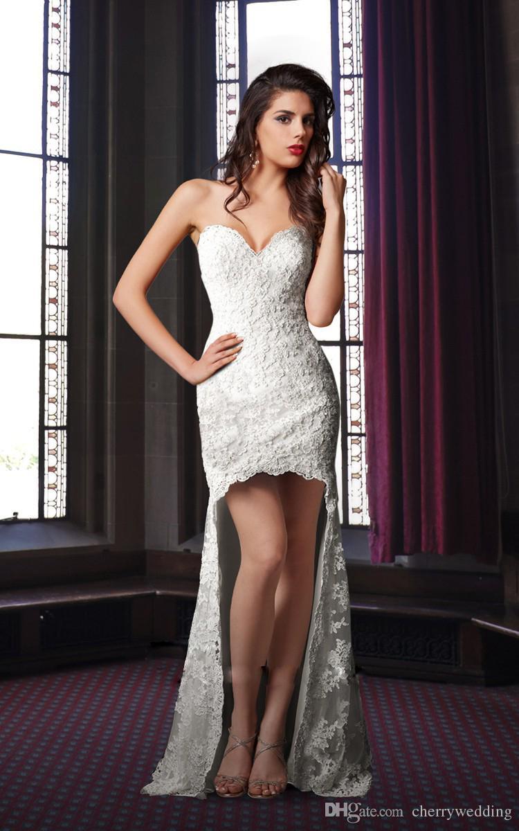 Русалка свадебные платья свадебные платья boho свадебные платья кружева свадебное платье LWD073
