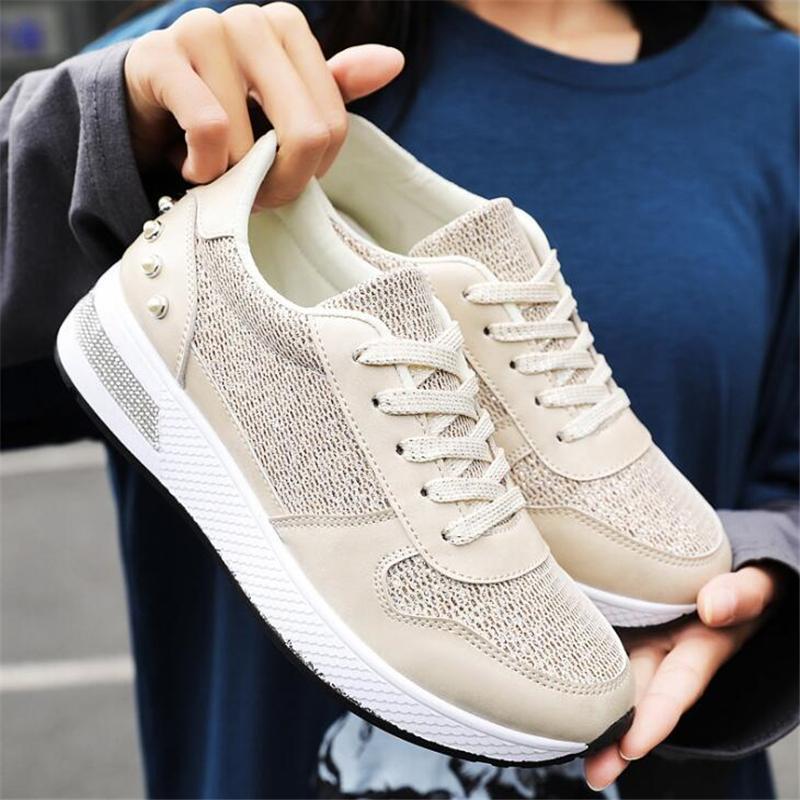 Fashion Women Mesh Sneakers Casual