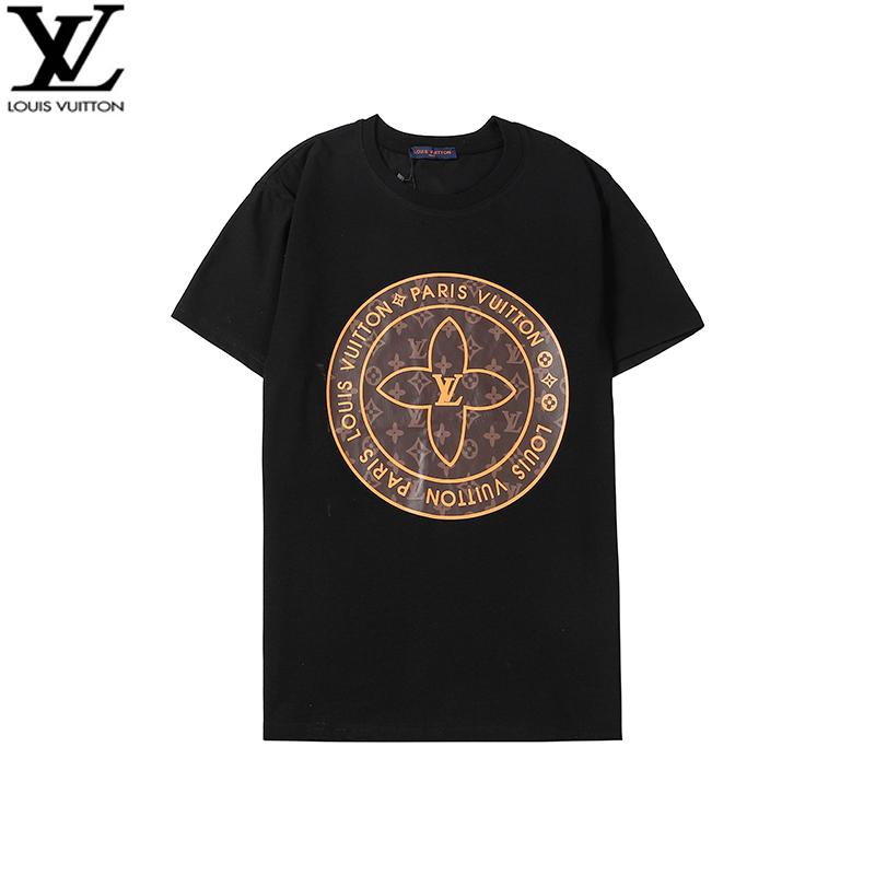 Summer Street Wear T-shirts Men Luxury Brand Tshirt Mens Casual Tee Shirt Fashion Floral Print Crew Neck Cotton Tshirt M-4XL