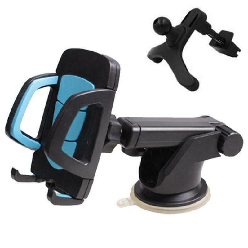Auto-Telefon-Halter-Auto-Instrumententafel-Universalhaltewinkel Luftaustritt Clip + Suction