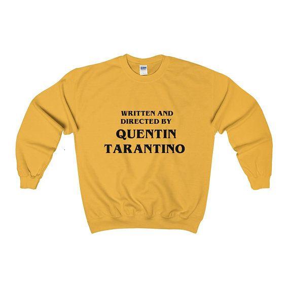 Written By Quentin Tarantino Fashion Tumblr Hipster Unisex Mens Womans JUMPER