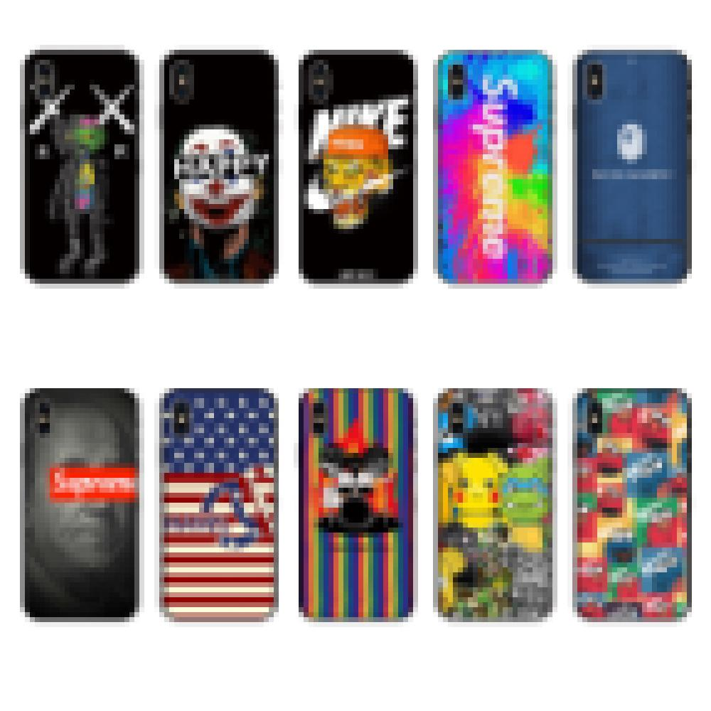 For Iphone 11 Pro Phone Case Xs Max Xr Fashionable Patterns 7 8 X Plus Luxury Cartoon TPU Soft Cell Phone Cases
