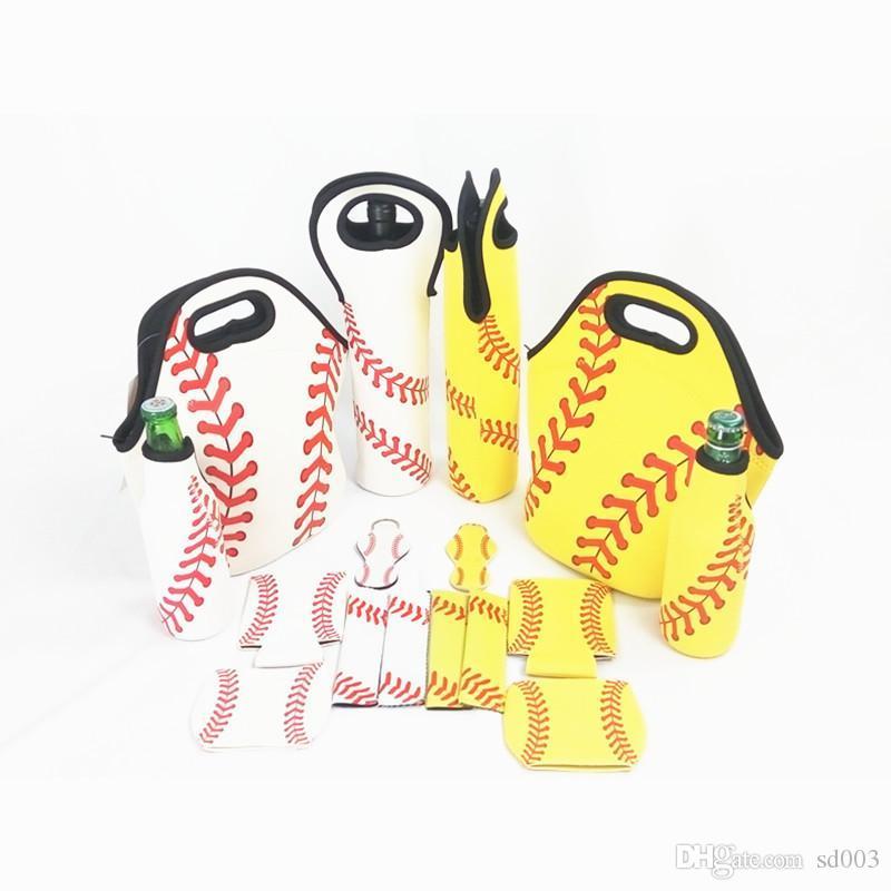 Spor Beyzbol Öğle Çanta Neopren Dalış Malzeme Dikdörtgen Kadınlar Ve Erkekler Evrensel Isı Koruma Su geçirmez Piknik Çanta 26ny E1
