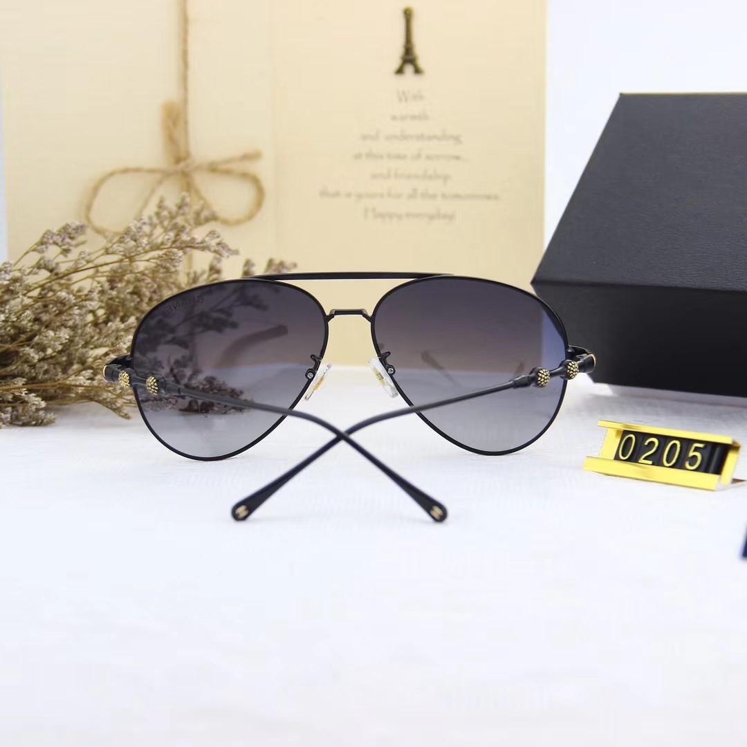 Atacado-Moda óculos polarizados - Novos metal Sunglasses 0252 Polaroid Alta Definição Pol Lens para a moda curso do verão