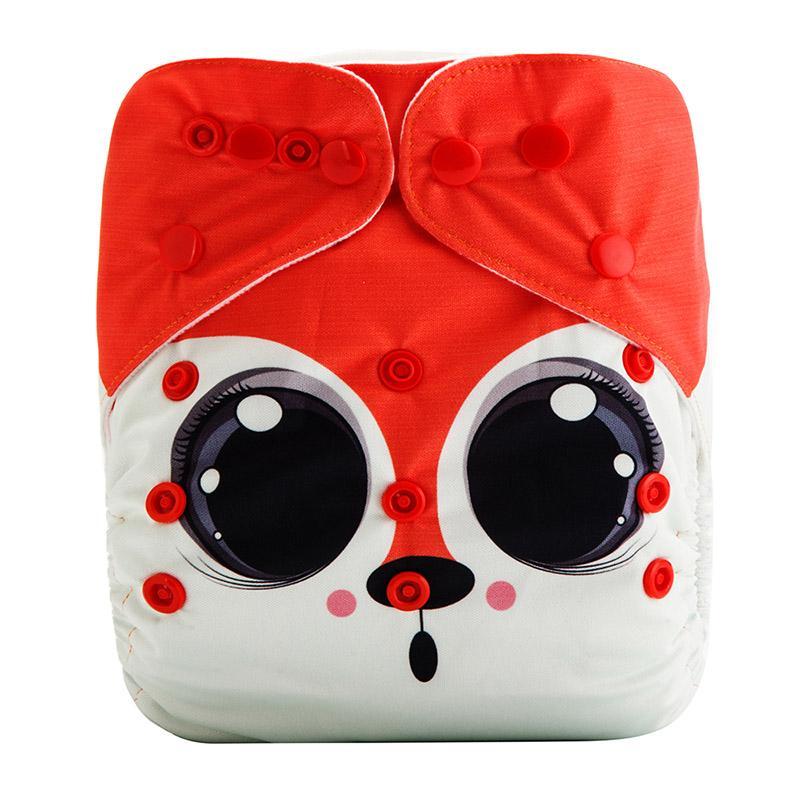 lavables y reutilizables para beb/és de 0 a 3 a/ños Color mixto 1 Talla:80 BAODANH impermeables Pa/ñales de tela para beb/é