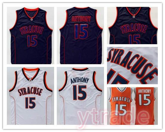 2020 Syracuse College Ncaa Jersey Carmelo Anthony Jersey Black White Orange Mens Carmelo Anthony College Basketball Jerseys Stitched Best Quality From Ytrade 14 51 Dhgate Com