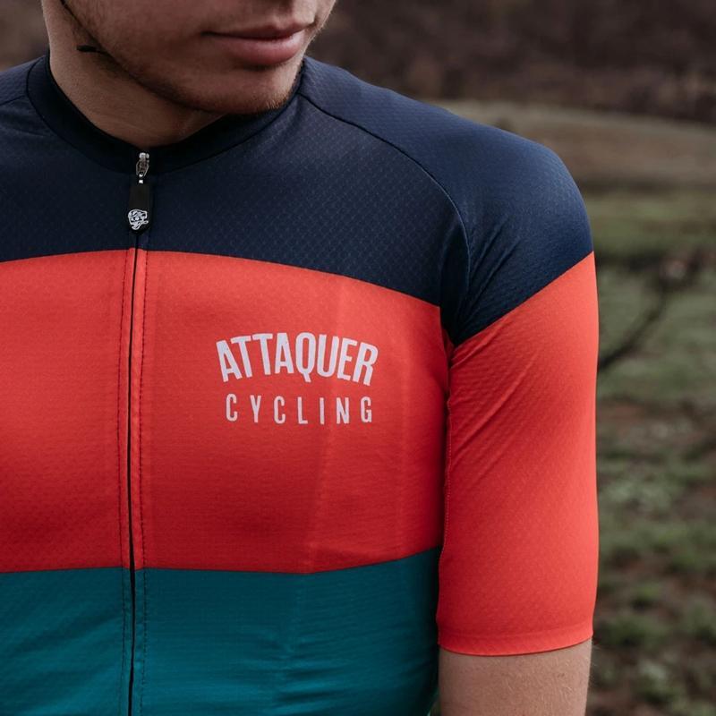 Attaquer задействуя Джерси мужчины весь день гонки одежда вершины 2020 Лучшие продажи одежды MTB спорта верхом рубашки с коротким рукавом Race Fit