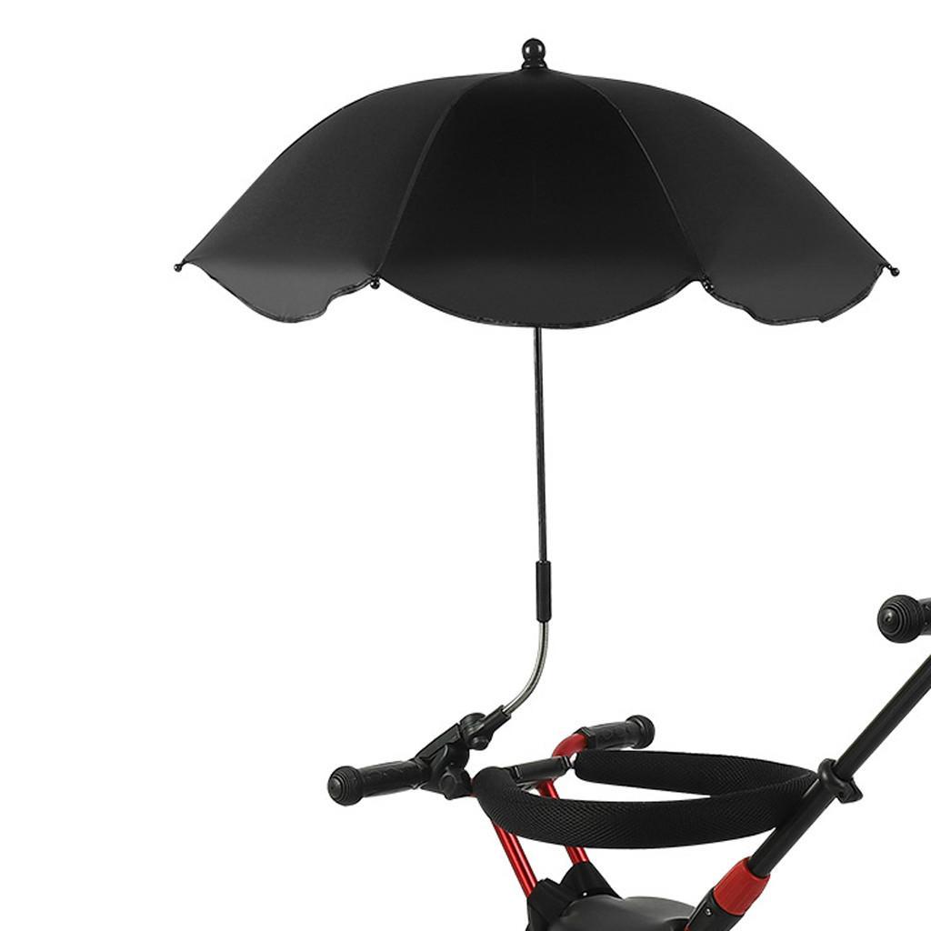 Ombrello universale Cute Baby Pram Umbrella Ombrello dello schermo UV Parasole per passeggino Passeggino per Sun parapioggia # 45