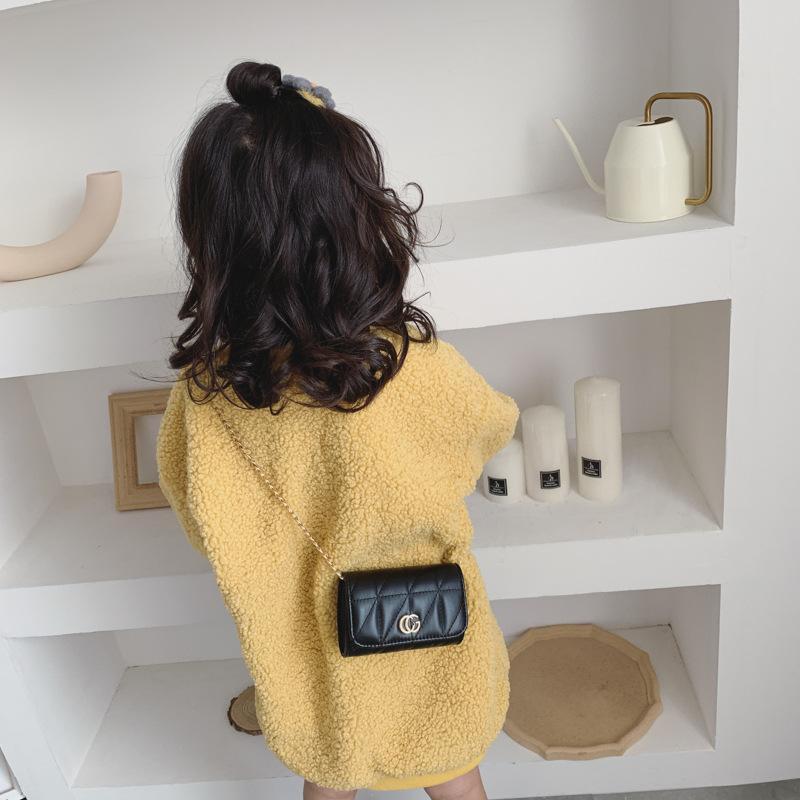 Детские девушки сумки Классического ребенок Мини кошелька плече сумка Подростков Детей Девушки Посланник Сумка Сеть сумка