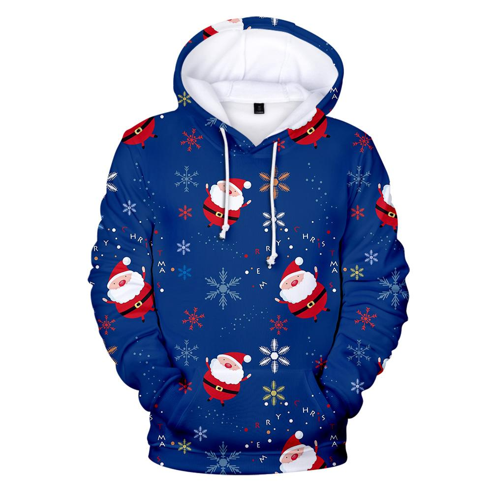 Christmas Sweatshirts 2020 2020 2020 Christmas Hoodies Men Women 3D Sweatshirts Boy/Girls