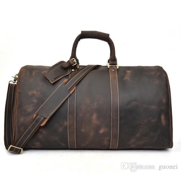 Designer-novo homens moda feminina bolsa de viagem mochila, 2019 bolsas de bagagem grande capacidade 58cm saco de desporto