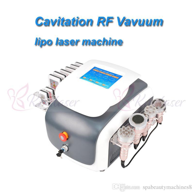새로운 진공 치료 진공 RF 초음파 공동 현상 rf 기계 체중 감소 rf 기계 셀룰 라이트 기계 초음파 공동 현상 장비