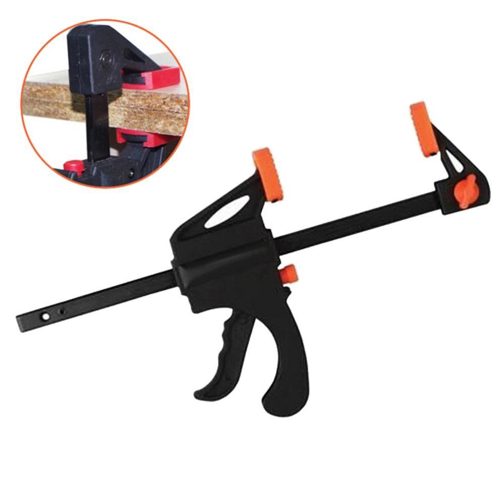 1 Pcs 4 Inch rápida Ratchet lançamento velocidade Squeeze Madeira braçadeira Kit Espalhador Gadget Ferramenta cor aleatória