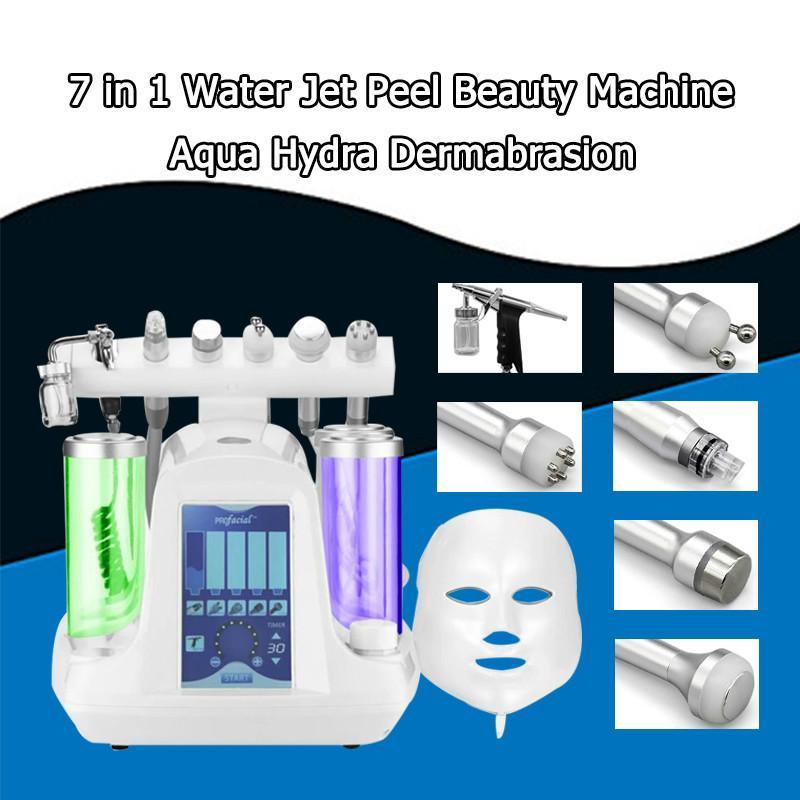 5,6,7 en 1 avec la machine de rajeunissement de peau de nettoyeur de peau de nettoyeur profond de peau de nettoyeur de rajeunissement de peau de Hydra de diamant de l'eau de Rf de marteau bio de Rf Bio pour Rf