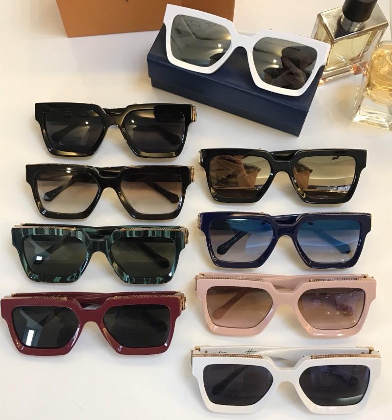 Or de luxe Gold Gold for Top Full Frame Sunglasses Logo Lunettes de soleil pour hommes Brillant Millionaire Hot Seller Designer Vintage Men 96008 QCntn