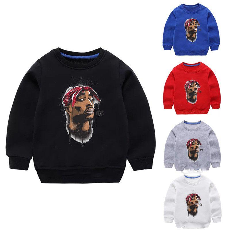 Children's Hoodies Kids Hip Hop Swag Sweatshirts Baby Cotton Pullover Tops Girls Boys Autumn Clothes
