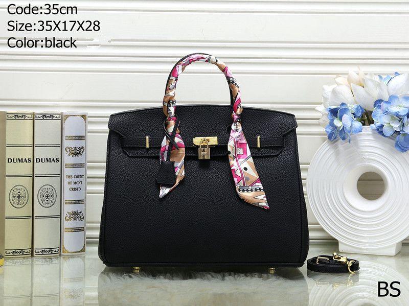 Free ship High quality Women designer Handbags High-end Designer Shoulder Crossbody Bags Travel Tote Bags with lock 12 color 30cm and 35cm
