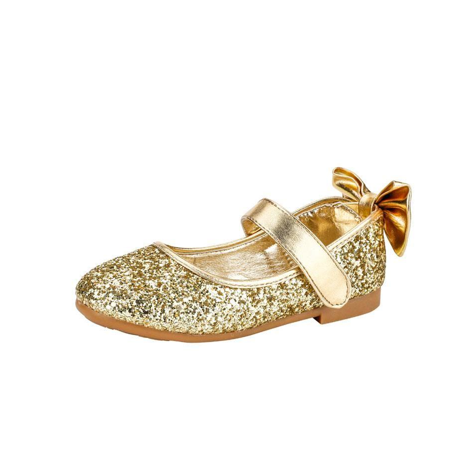 Children Shoes Gold/Silver Glitter