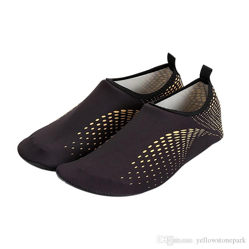 أحذية الماء الخفيف امتصاص الصدمة زلة أكوا أحذية الجوارب أحذية شاطئ الخوض سباحة الغطس لتعليم قيادة السيارات