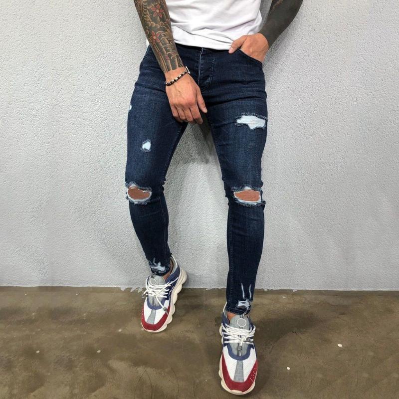 الرجال الجينز الرجال بسط متعدد جيب نحيل جيب سستة سروال رصاص 2021 أزياء عارضة السراويل الهيب هوب sweatpants # g3