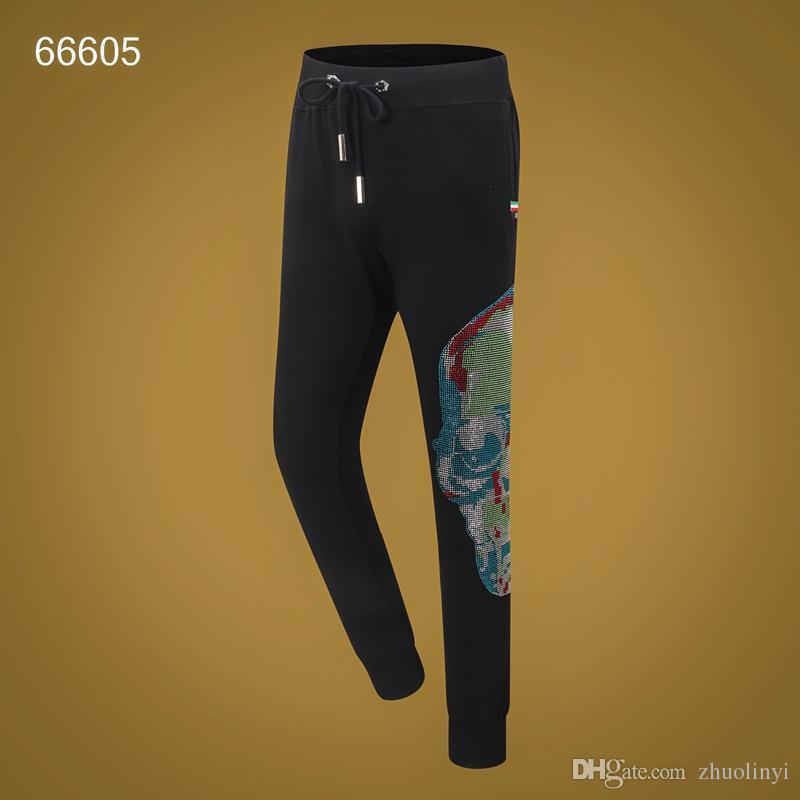 Nouveau designer de marque de vêtements pour hommes 2019 pantalons de crime européens et américains sport pantalons de jogging décontractés - Bienvenue à acheter - # 008