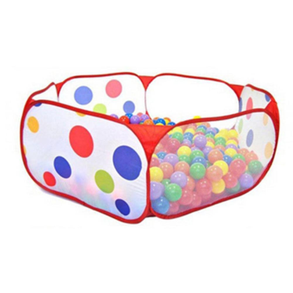Детская площадка Game Play Открытый Закрытый забор Дети Дом океана Бал безопасности игрушек Портативный Crawling Складной бассейн