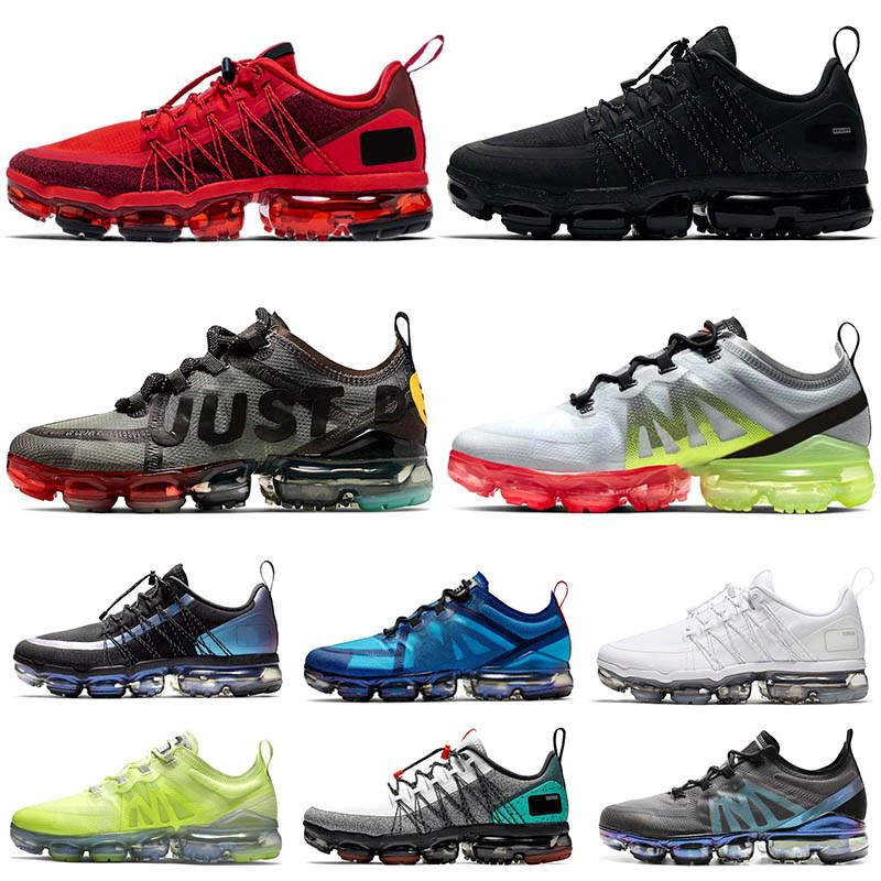 New Os vapores Almofadas Run Utility Homens Mulheres Running Shoes Mutil CPFM VPM Trainers Triplo piloto preto Maxs Mens Airs Designer Sneakers tamanho 11