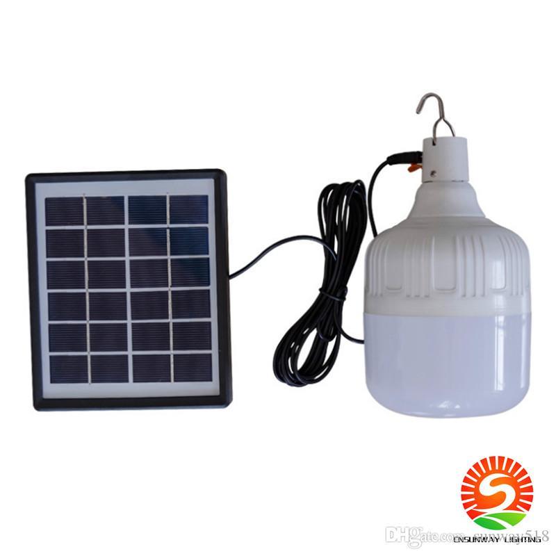 30-80W المصباح الشمسي IP55 جهاز التحكم عن بعد مصباح الطاقة الشمسية مصباح الطوارئ الشمسية ضوء الطوارئ شحن مصباح المصباح كشك