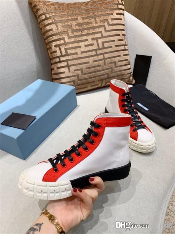 Yeni Gelenler Womens Moda Lüks Platformu Ayakkabı Düz Casual Lady Casual Sneakers zh200527 Walking