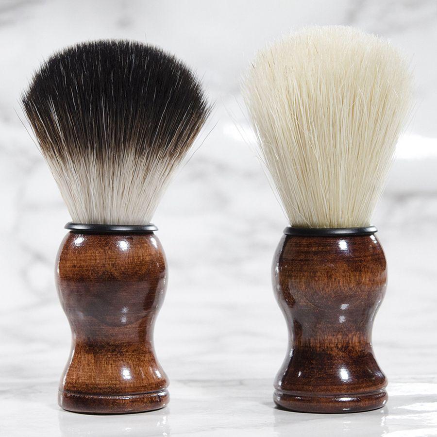 قسط الجودة badger فرشاة الحلاقة المحمولة اللحية فرشاة الوجه اللحية تنظيف الرجال الحلاقة الحلاقة فرشاة تنظيف أدوات الأجهزة RRA2386
