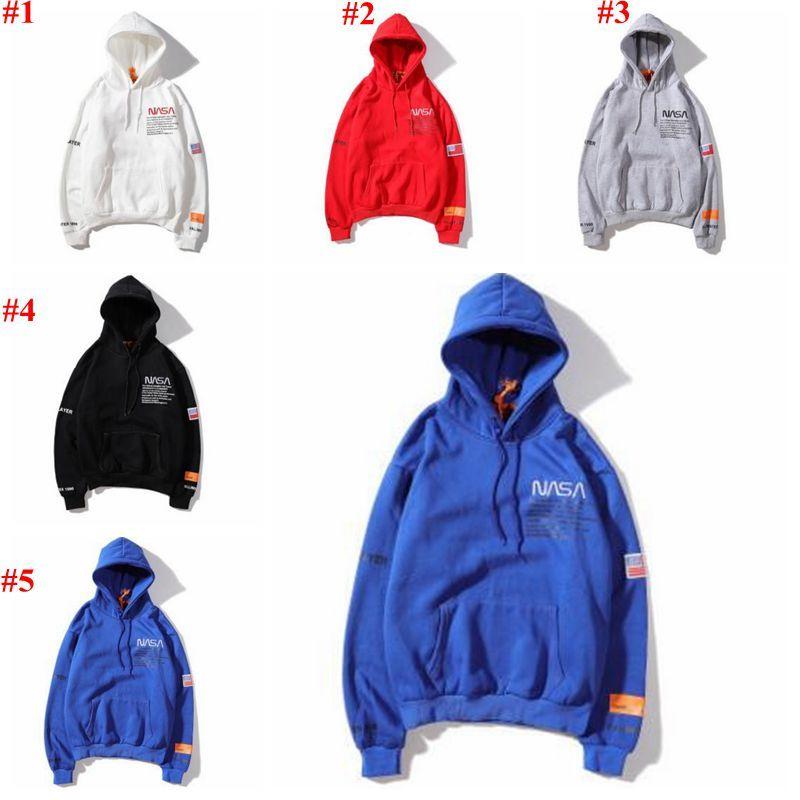 Мужчины Толстовка Дизайнер Повседневных фуфаек вышивка Письмо Printed пуловер Сыпучего капюшон Перемычка свободно облегающие Пальто HIP-HOP куртка CYL-B5987