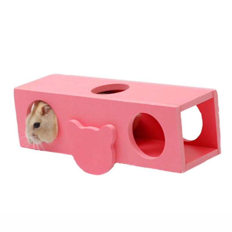 Aapet 1pc Hamster Tunnel Small Pet Interactive Seesaw Tunnel Teeterboard Playing Toy For Hamster Small Animal Funny Pet Supplies