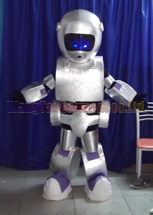 Hochwertiger Roboter-Maskottchen-Kostüm-Karneval Zweig Parade Qualität Clowns Halloween-Party-Aktivität Fancy-Ausstattung Verschiffen frei