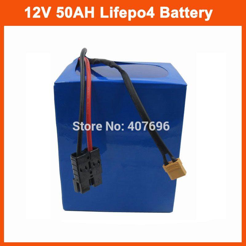 Batteria 500W 12V 4S lifepo4 Batteria 12V e 350W 12V 350A 12V 50AH LFP batteria esterna con caricabatterie 14.6V 5A