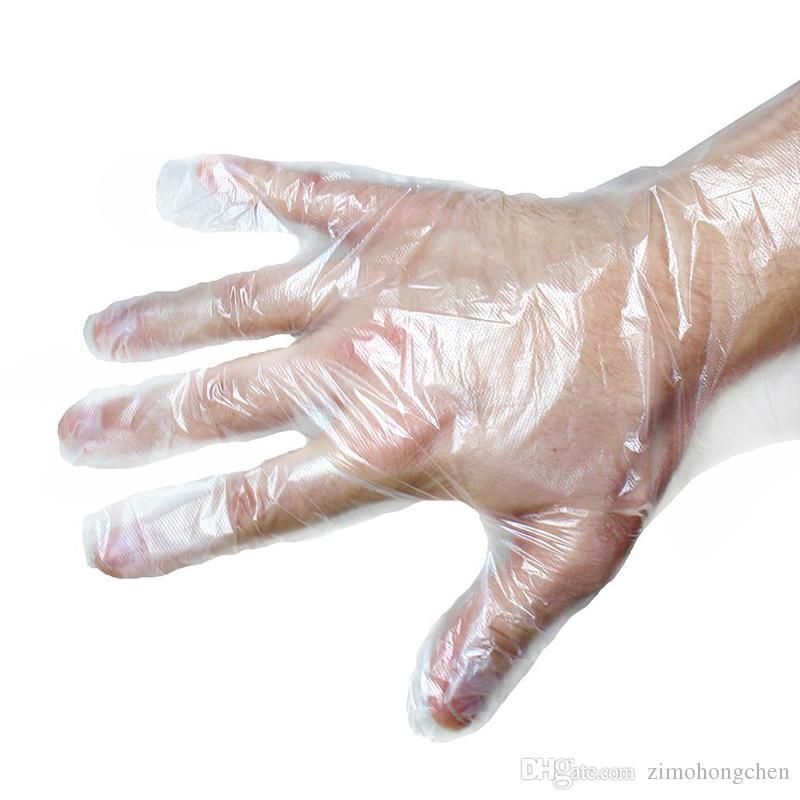 100PCS/Set Food Plastic Gloves Disposable for Restaurant Kitchen BBQ Eco-friendly Food Gloves Fruit Vegetable Gloves