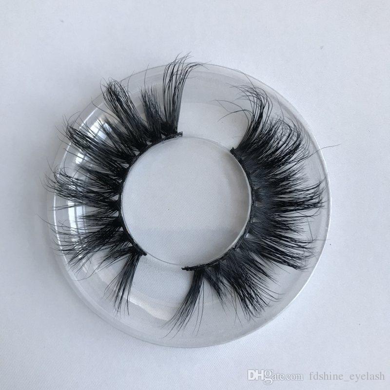 3D Mink pestañas 100% hecho a mano Cruelty Free Mink Lashes pelo largo natural gruesas pestañas falsas del ojo