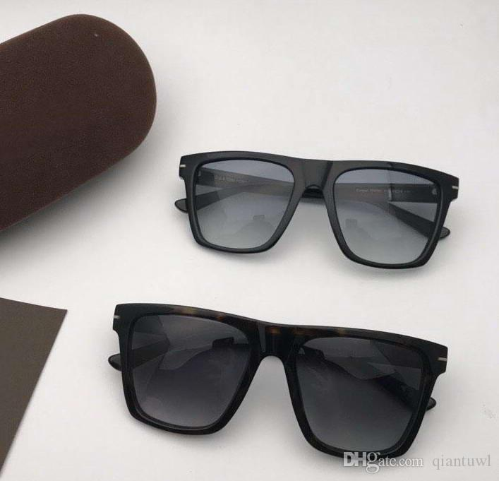 نظارات شمسية باطار اسود FT0395 Gradient Lens Sonnenbrille occhiali da sole
