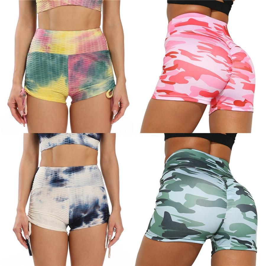 Femmes Courir Sport Yoga Faux deux pièces Pantalons élastiques Slim jeggings Leggings Gym Fitness Pantalons - Intl # 801
