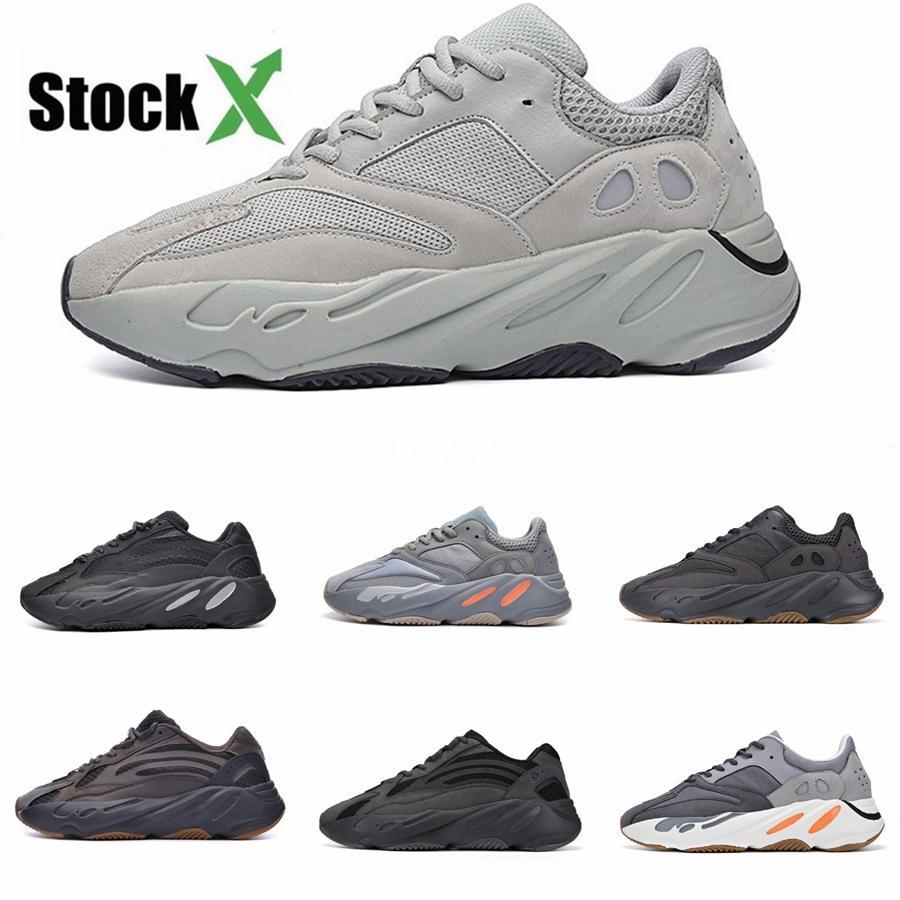 Erkekler 700S Ayakkabı Spor Tripler Moda Sneakers # DSK742 İçin Ayakkabı Koşu 2020 Üst Kalite ile Kutusu Ucuz 700 V3 Azael Kanye West Ayakkabı Erkek
