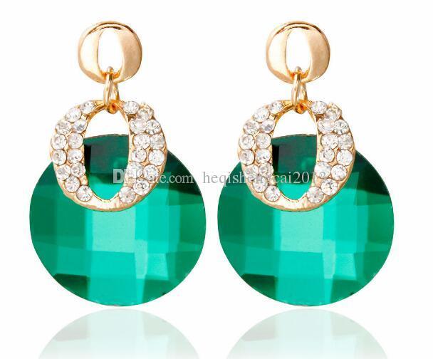 Frete grátis saco de moda gem é pequeno conjunto de água trado de orelha prego é elegante e clássico e delicado e elegante