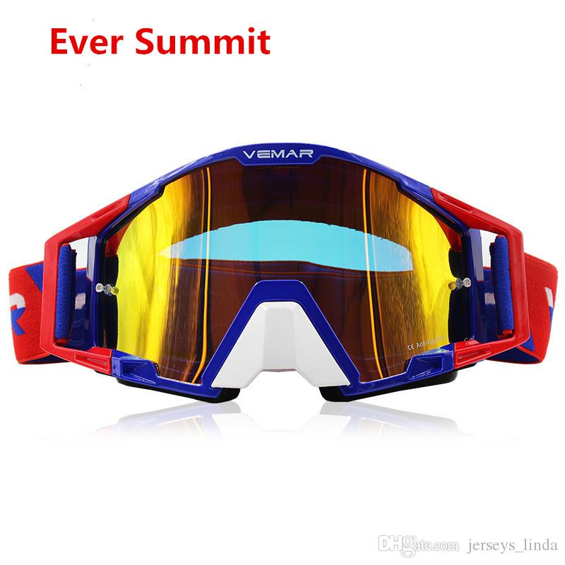 2019 Sports Riding Helmet Goggles Off-road Motorcycle Goggles Sand-proof Skiing Electric Motor Car Outdoor Dirt Bike Helmet Visors Eyewear