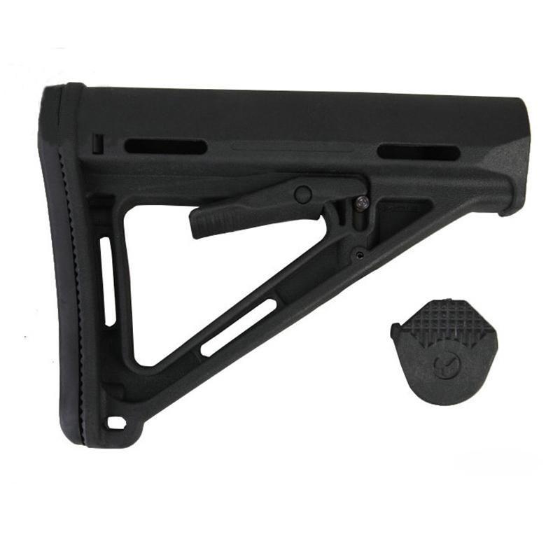 Tactical Plastic Drop-in da Carbine substituição bumbum da para M4 M16 AEG Series (preto)